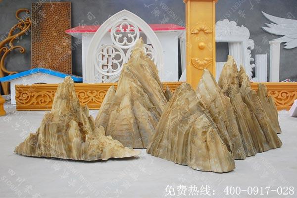假山泡沫造型雕刻
